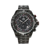 """Montre Chronowatch """"Berelli"""" Automatique Noir Bracelet Métal - HB5121C1BM2"""
