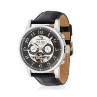 """Montre Chronowatch """"Camara"""" Automatique Gris Bracelet Cuir - HA5310Cg2BCt"""