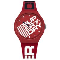 Montre Homme Superdry Cadran rouge - SYG226R