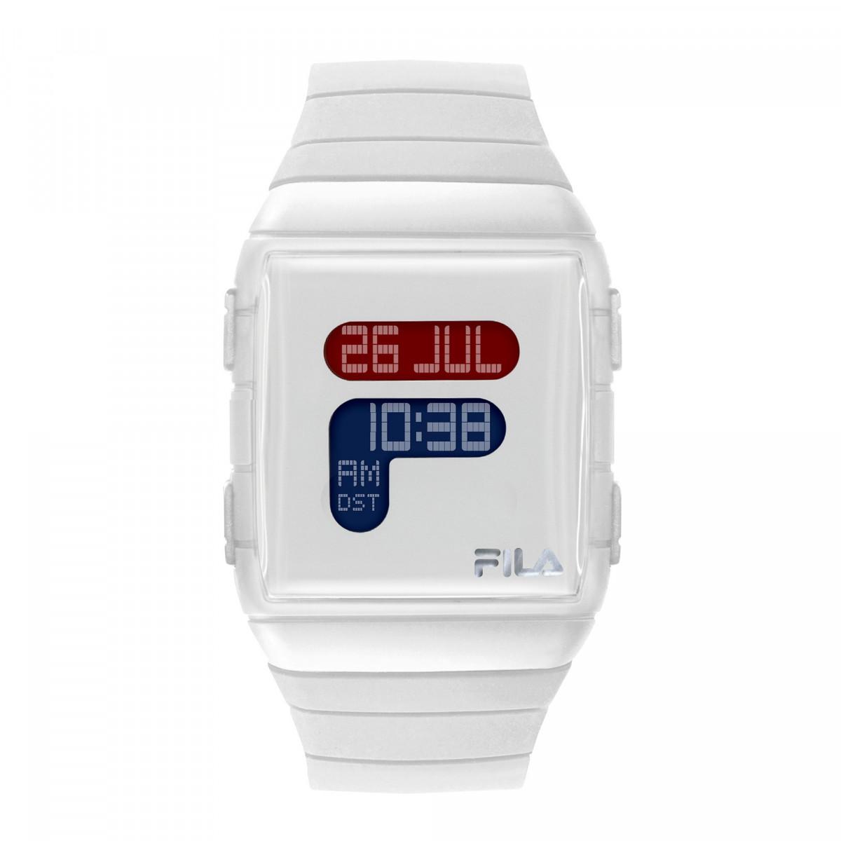 Montre mixte FILA digital cadran blanc - 38-105-001