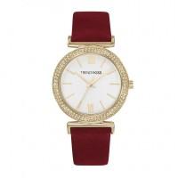 Montre Femme Trendy Kiss Rose cadran blanc  - TG10098-01R