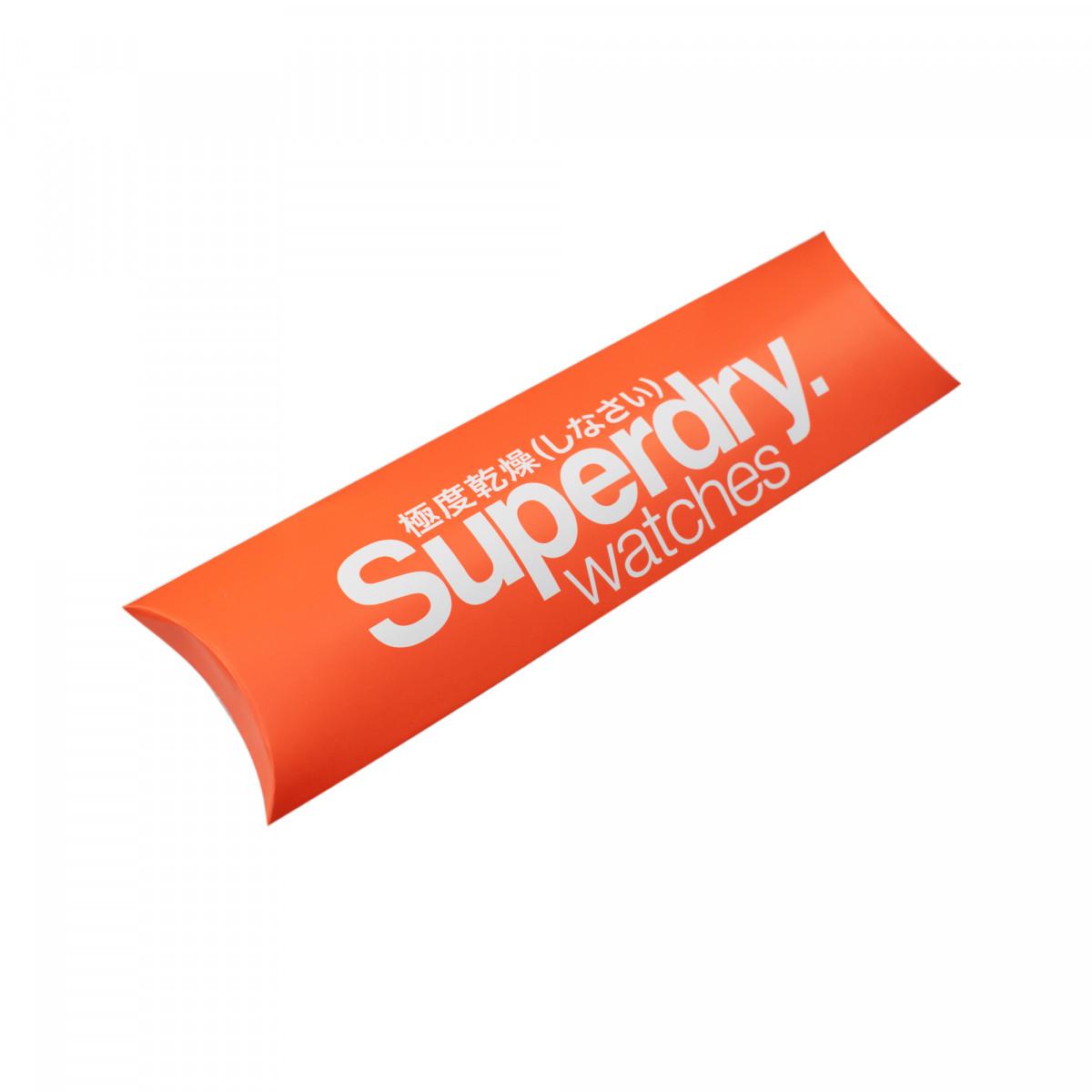 Montre unisexe Superdry Urban cadran orange - SYG198UO