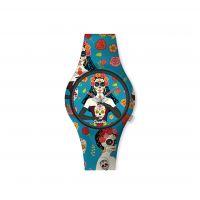 Montre Femme Doodle Santa Muerte Mood cadran turquoise - DO35011