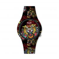 Montre Homme Doodle Street Fighter Mood cadran noir - DO42003