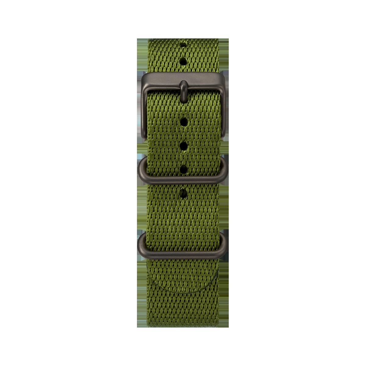 """Montre Homme Timex """"Standard"""" Boîtier 40mm Noir Cadran INDIGLO® Beige - TW2T20300"""