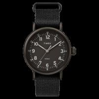 "Montre Homme Timex ""Standard"" Boîtier 40mm Noir Cadran INDIGLO® Noir - TW2T20800"