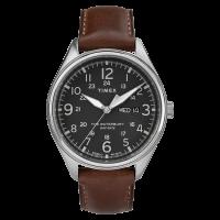 """Montre Homme Timex """"Waterbury Day Date"""" Boîtier SST 42mm Cadran Noir - TW2R89000"""
