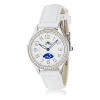 "Montre Jost Burgi ""STELLA"" bracelet cuir - HB4A10C3BC4"