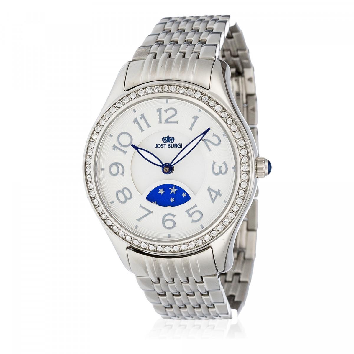 """Montre Jost Burgi """"STELLA"""" bracelet métal - HB4A10C3BM1"""