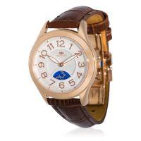"Montre Jost Burgi ""STELLA"" bracelet cuir - HB4A13C3BC2"