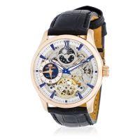 """Montre Jost Burgi """"L'ORLEAN"""" bracelet cuir - HB4A43C3BC1"""