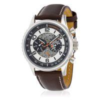 """Montre Jost Burgi """"RACING"""" bracelet cuir - HB4A60C2BC2"""