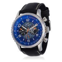 """Montre Jost Burgi """"RACING"""" bracelet cuir - HB4A60C4BC1"""