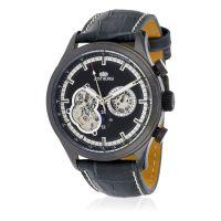 """Montre Jost Burgi """"ICONIC"""" bracelet cuir - HB4A70C1BC5"""
