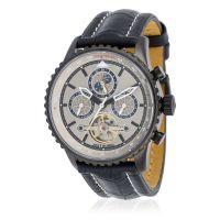 """Montre Jost Burgi """"AIRMAN"""" bracelet cuir - HB4A80C2BC1"""