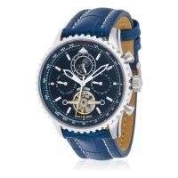 """Montre Jost Burgi """"AIRMAN"""" bracelet cuir - HB4A80C4BC3"""