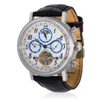 """Montre Jost Burgi """"MILLESIME"""" bracelet cuir - HB4A90C3bBC1"""