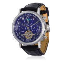"""Montre Jost Burgi """"MILLESIME"""" bracelet cuir - HB4A90C4BC1"""