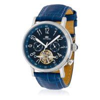 "Montre Jost Burgi ""REVONE"" bracelet cuir - HB4B10C4BC3"
