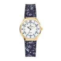 Montre Fille LuluCastagnette Mini Star  bracelet bleu motifs floraux - 38848