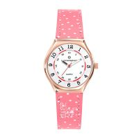 Montre Fille LuluCastagnette Mini Star  bracelet rose tacheté blanc - 38850