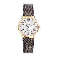 Montre Fille LuluCastagnette Mini Star  bracelet beige et noir - 38854