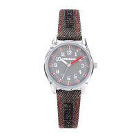Montre Garçon Freegun Varial Bracelet en jean gris avec couture rouge - EE5242