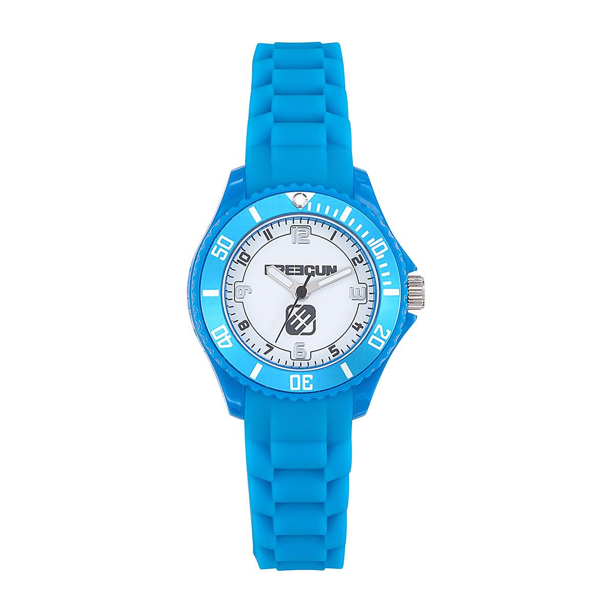 Montre Garçon Freegun Ride Bracelet en silicone bleu - EE5251
