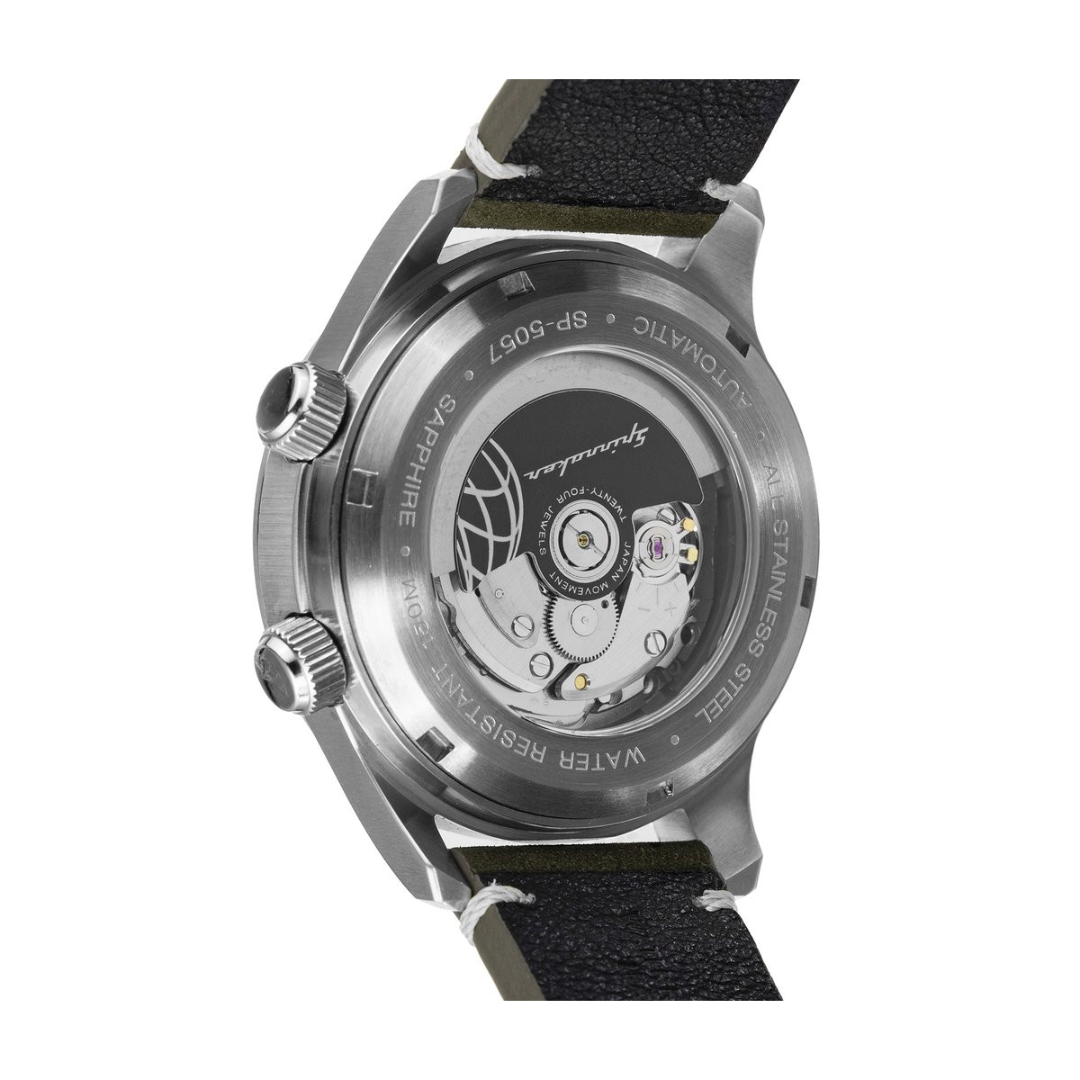 Montre Spinnaker BRADNER Automatique  - Cadran Noir - SP-5057-02