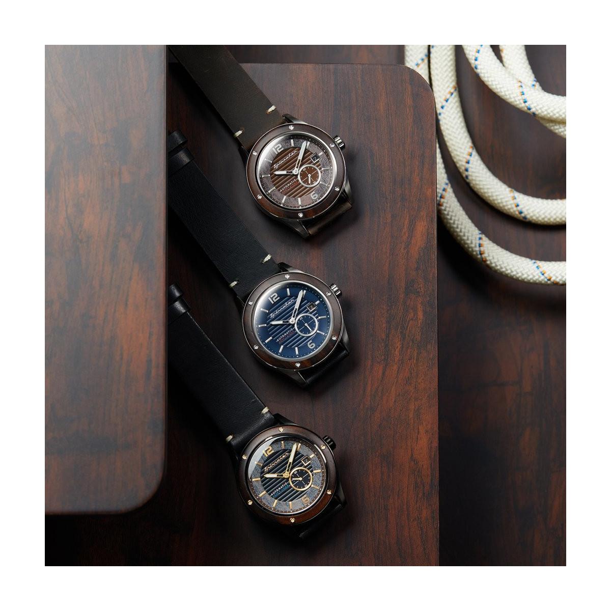 Montre Spinnaker Sorrento  Automatique Cadran bleu - SP-5067-02