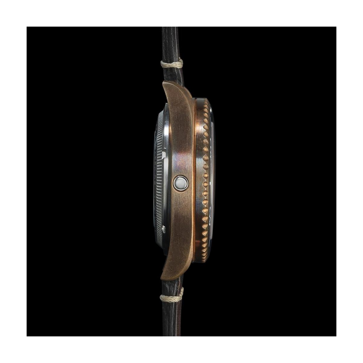 Montre Homme Spinnaker TESEI  Boîtier en Bronze Cadran Noir  - SP-5060-04