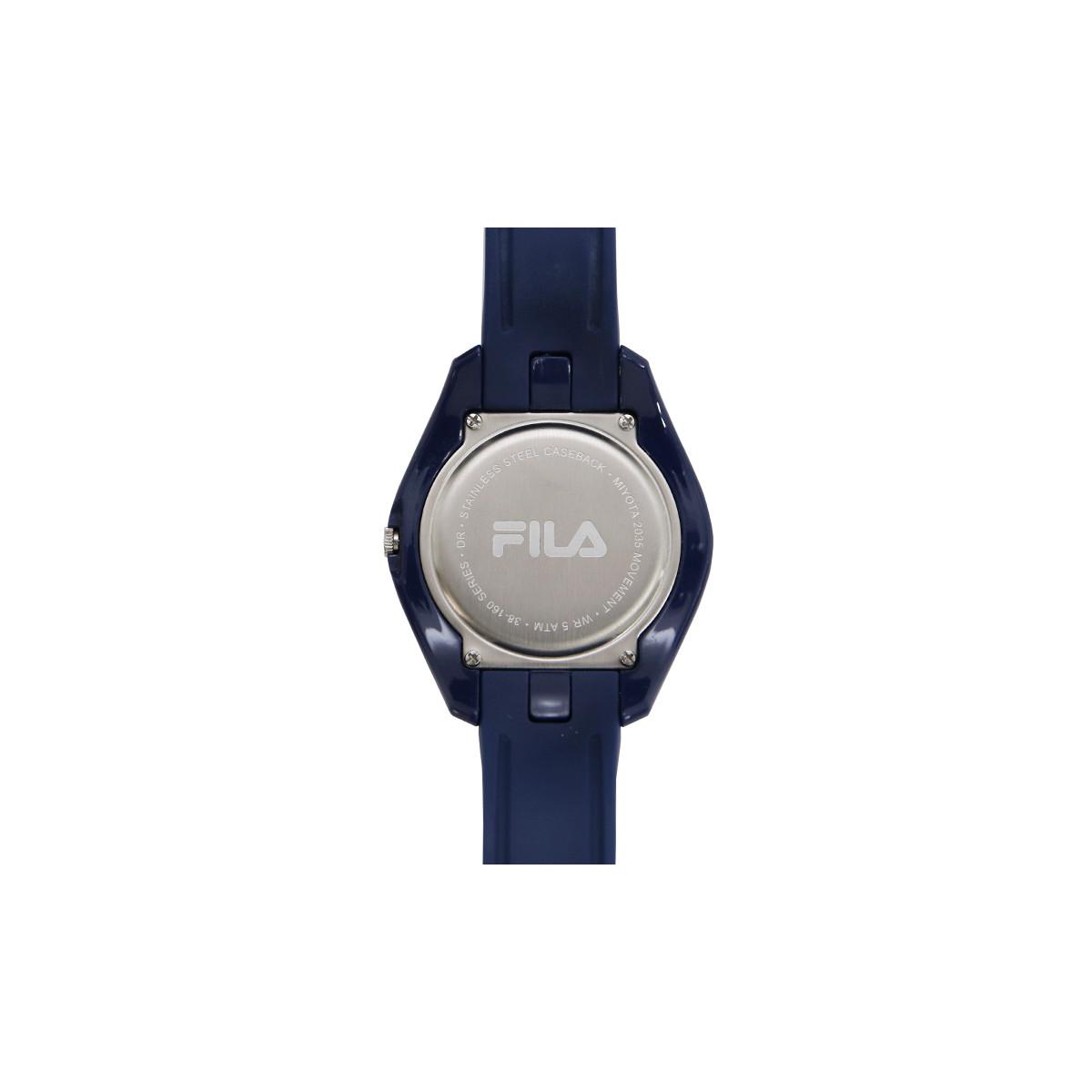 Montre mixte FILA cadran bleu - 38-160-005