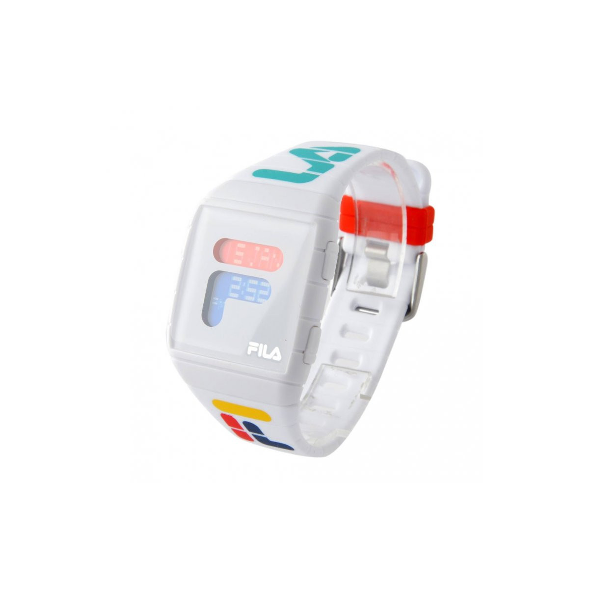 Montre mixte FILA digital cadran blanc - 38-105-007