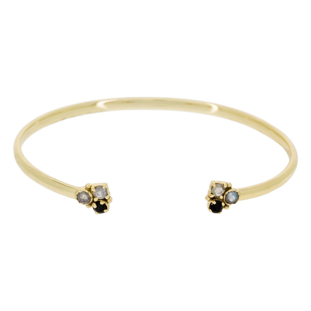 "Bracelet ""Tina"" Labradorite Grise"
