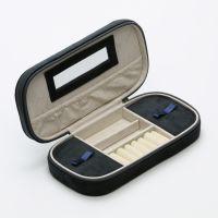 Pochette à Bijoux Noir VELVET - 24 x 11,5 x 5 cm