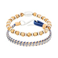 Duo Bracelets Homme SUNRISE & NATURAL AND BLUE