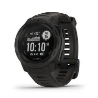 Montre GPS Garmin INSTINCT, graphite gray