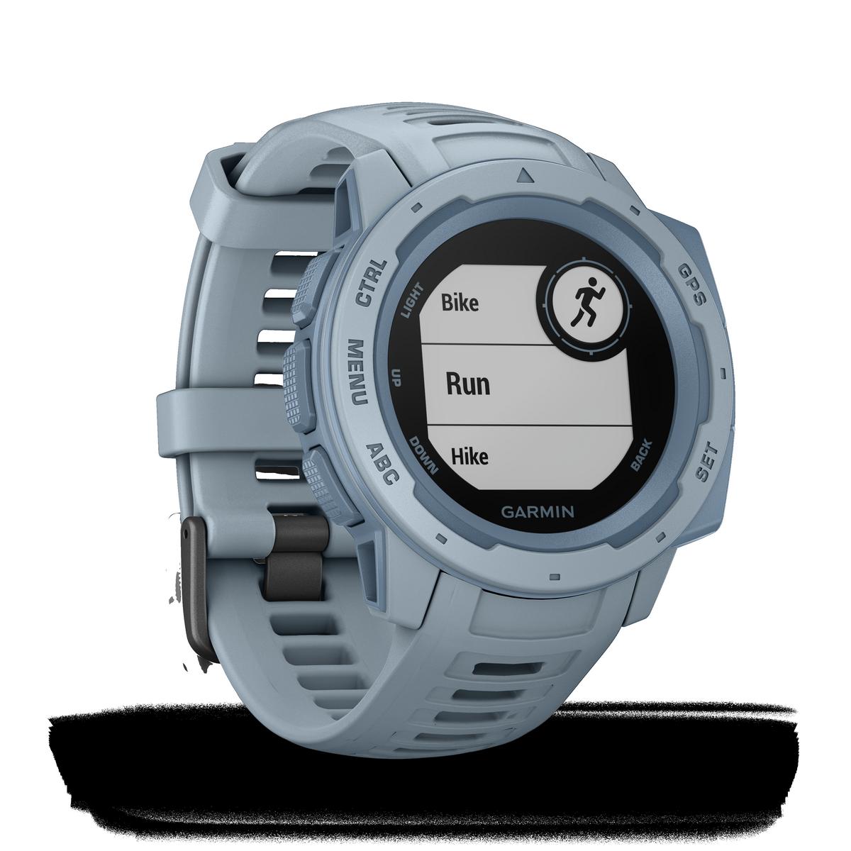 Montre GPS Garmin INSTINCT, bleu écume