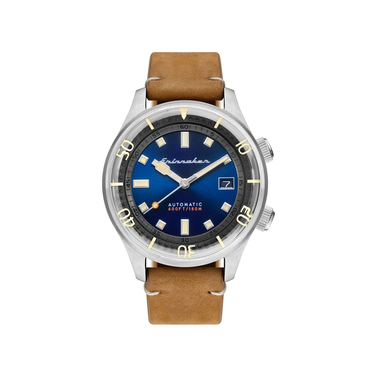 Montre Spinnaker BRADNER Automatique - Cadran Bleu - SP-5062-05