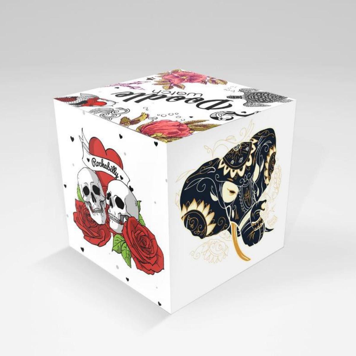 Montre Femme Doodle Americans Mood cadran blanc - DO35003