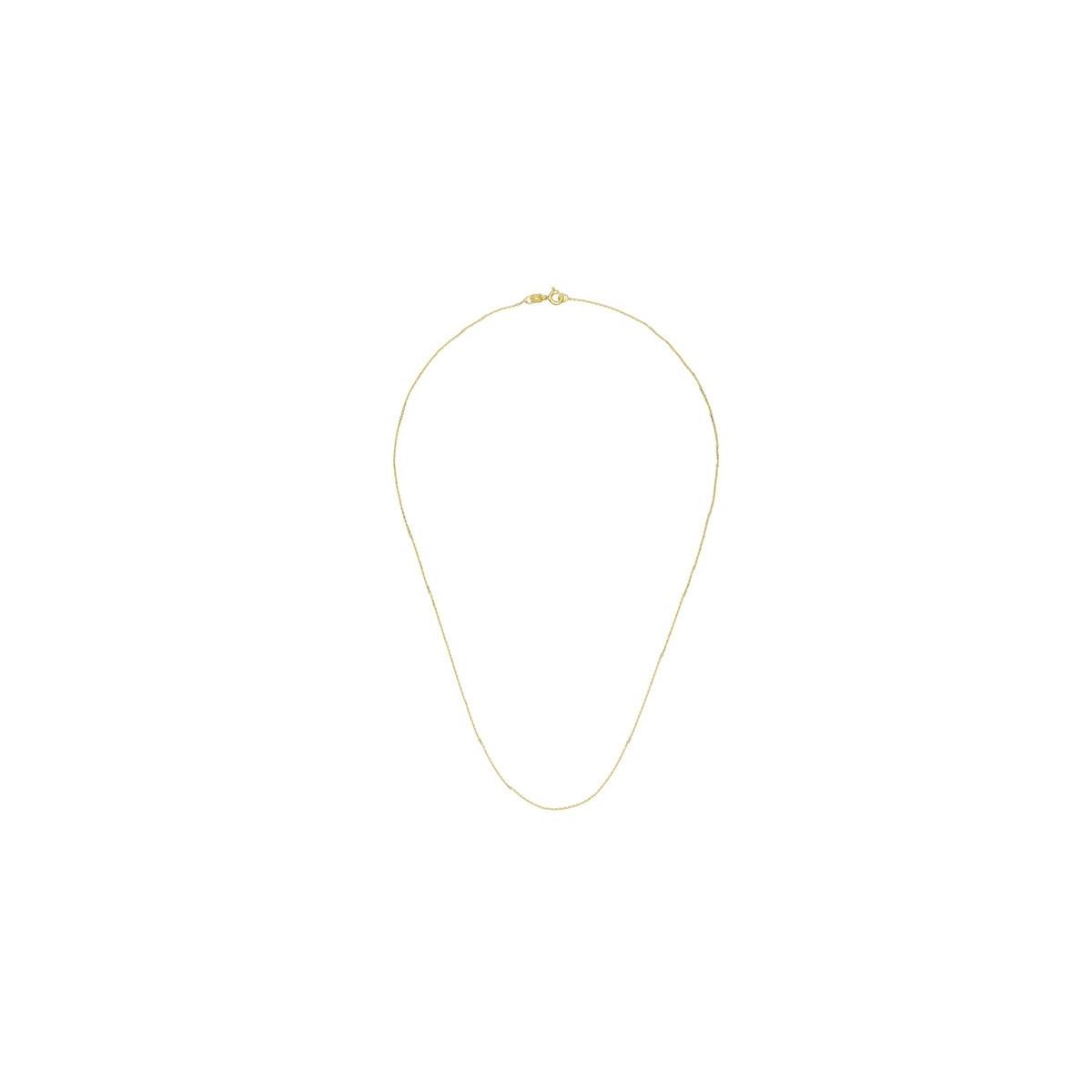 """Pendentif vermeil jaune, oxydes de zirconium et perle de culture Blanche """"Pointe de Perle"""" + chaîne vermeil jaune offerte"""