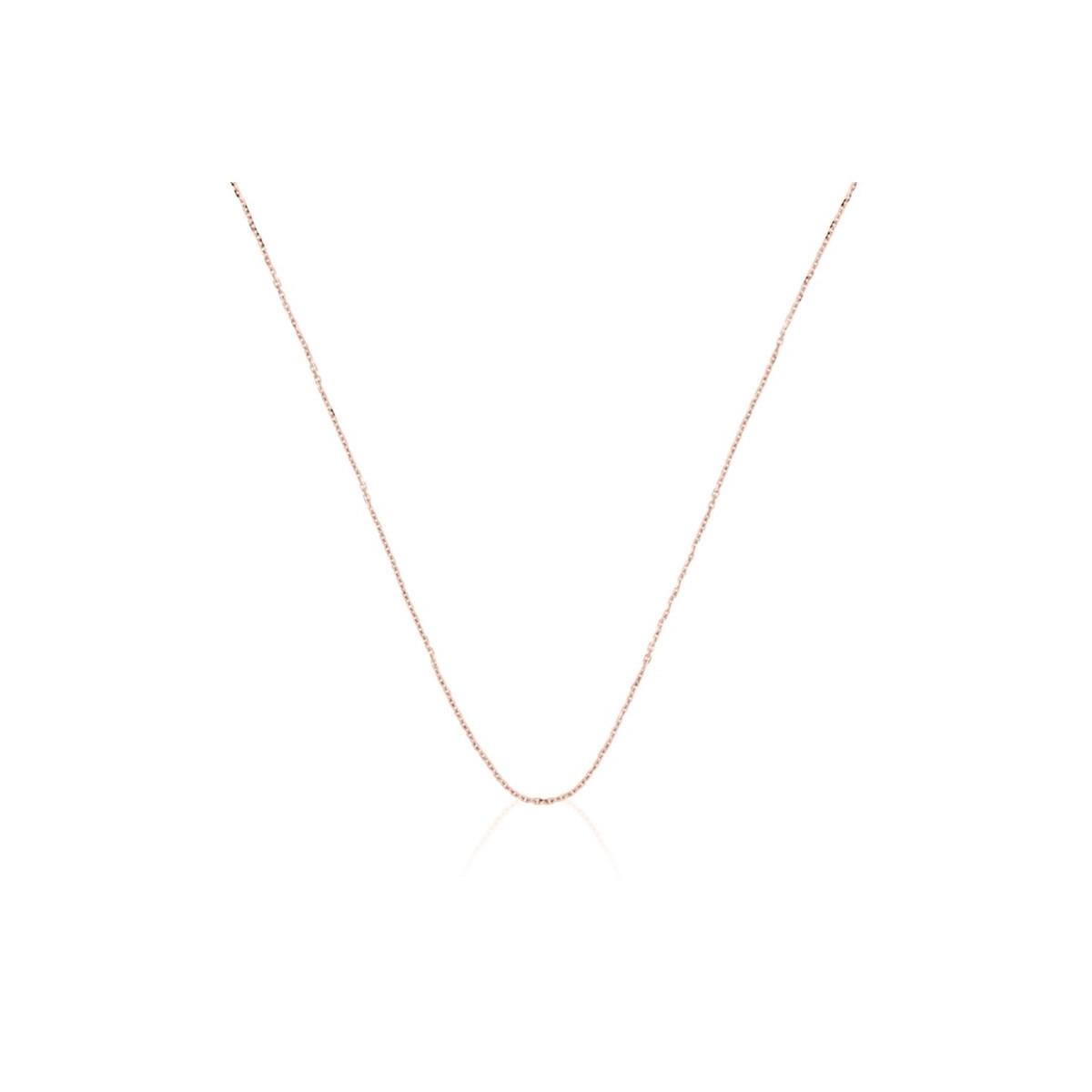 """Pendentif vermeil rose, oxydes de zirconium et perle de culture Blanche """"Virevolte"""" + chaîne vermeil rose offerte"""