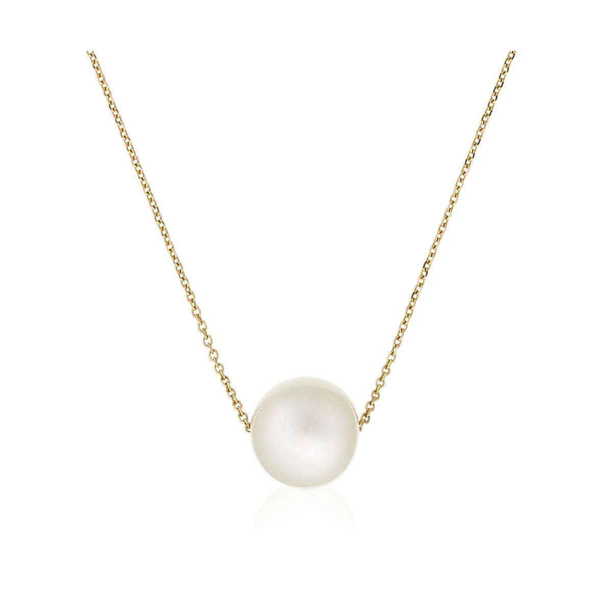 Collier Perle en Or Jaune