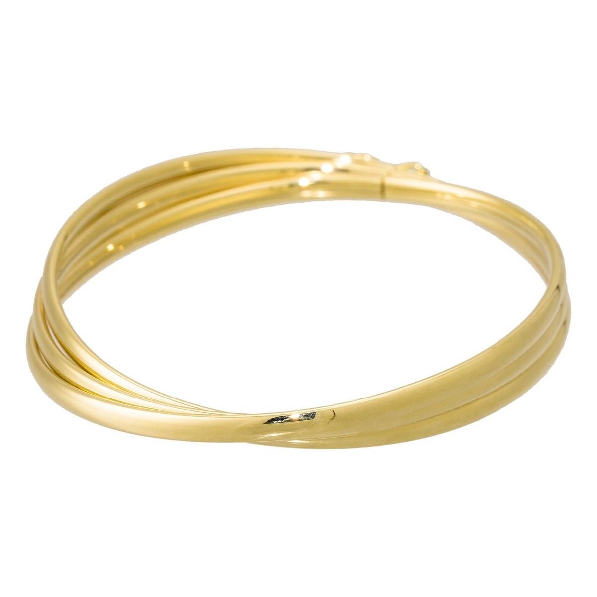 Bracelet jonc Or jaune 375/1000